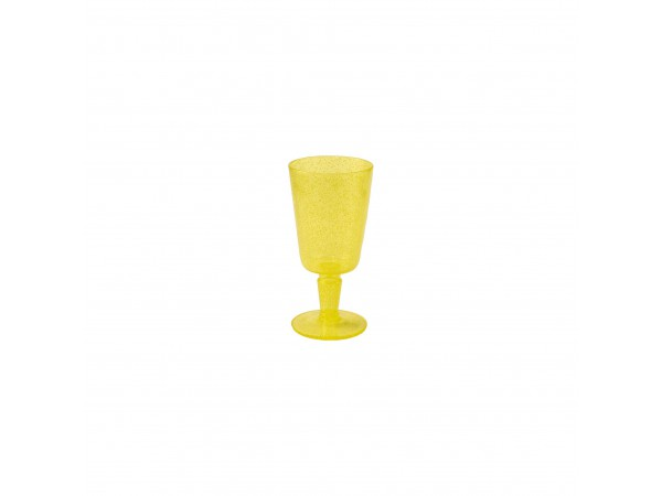 Goblet - Yellow Transparent
