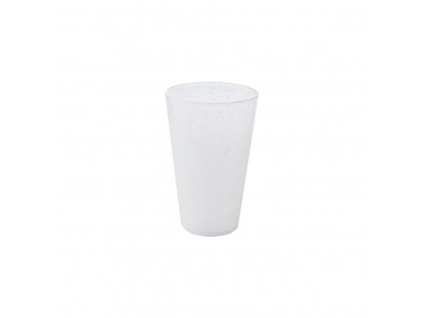 Drink Glass - White Transparent